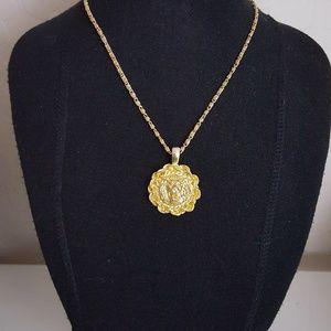 Vintage - Lion Head Necklace
